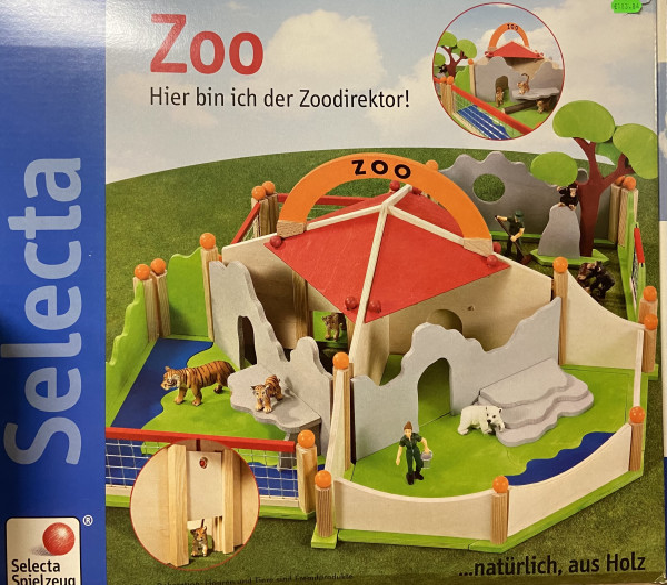 Zoo Selecta aus Holz