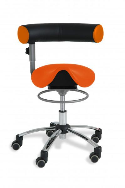 Sanus®-Sattelsitz mit Lehne