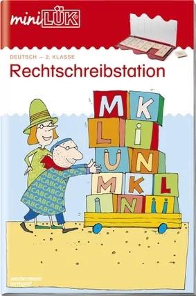 mini LÜK Rechtschreibstation 2. Klasse