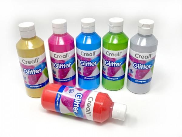 Glitterfarbe 250 ml