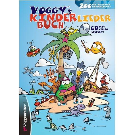 Voggys Kinderliederbuch incl. CD