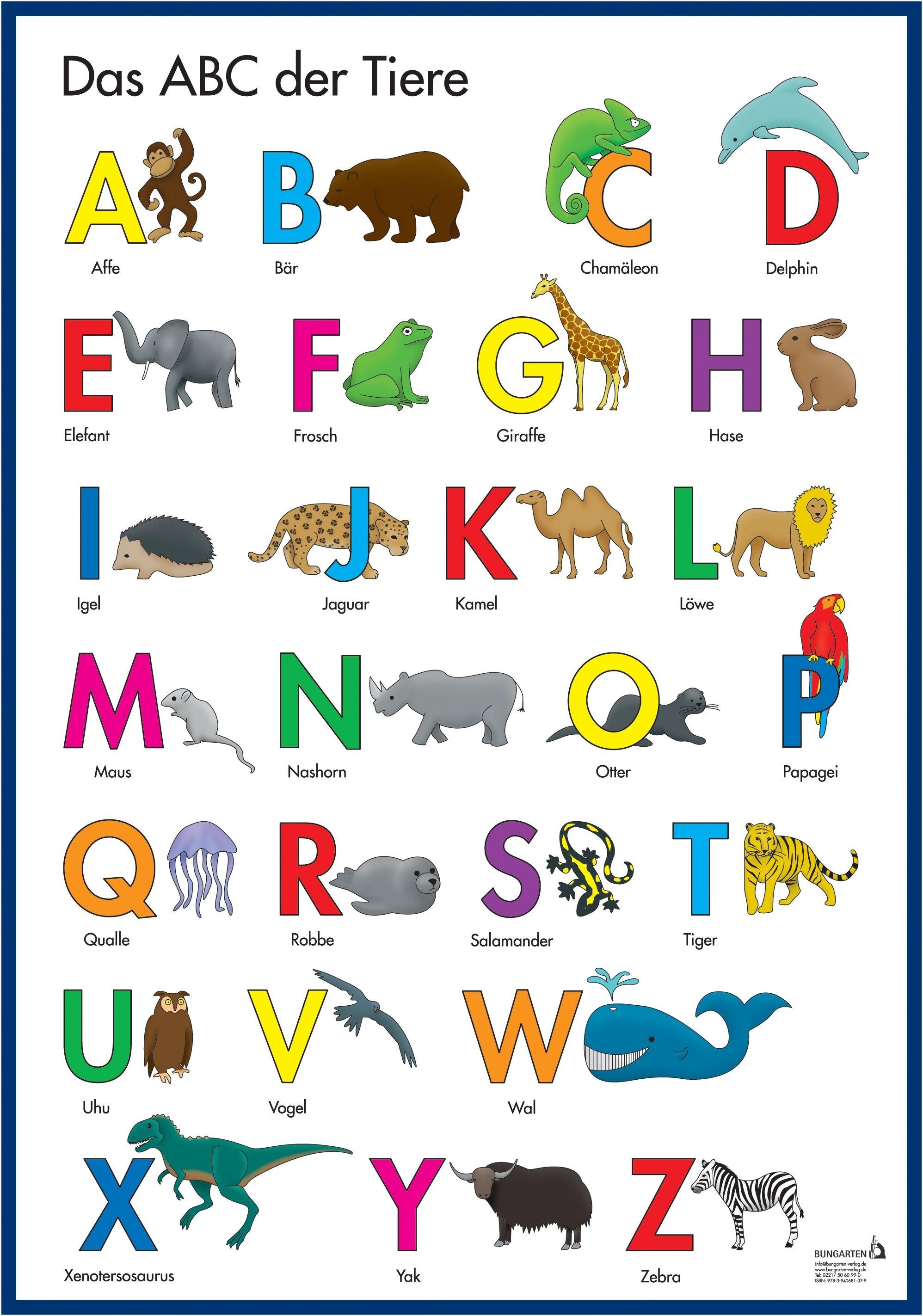ABC Sprachförderposter
