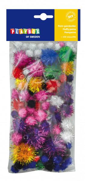 Pompons Glitter