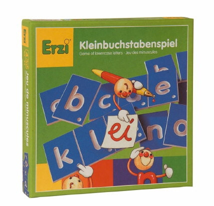 Kleinbuchstabenspiel, Set, 29teilig