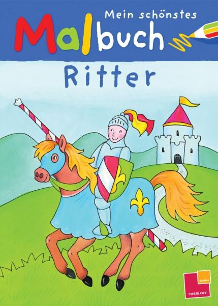 Mein schönstes Malbuch. Ritter
