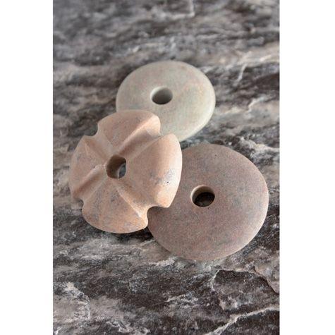 Speckstein-Donut braun