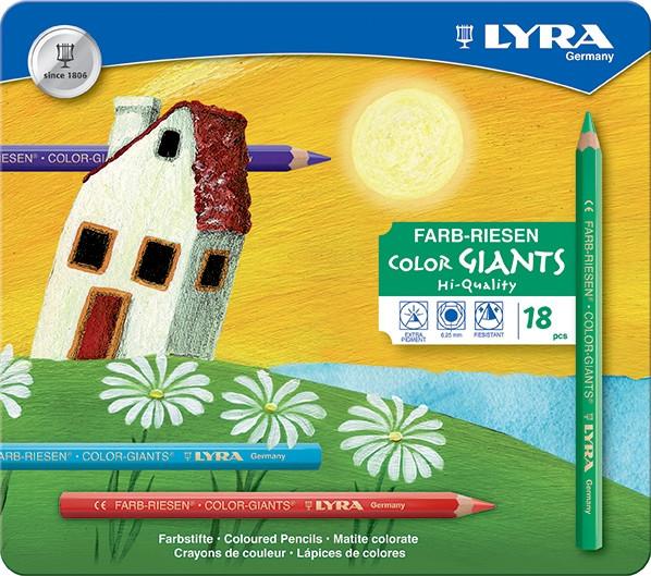 Lyra Farb-Riesen lackiert im Metalletui