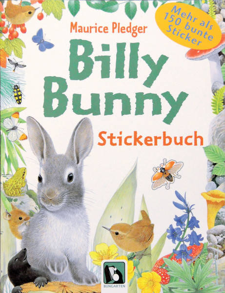 Billy Bunny, Stickerbuch