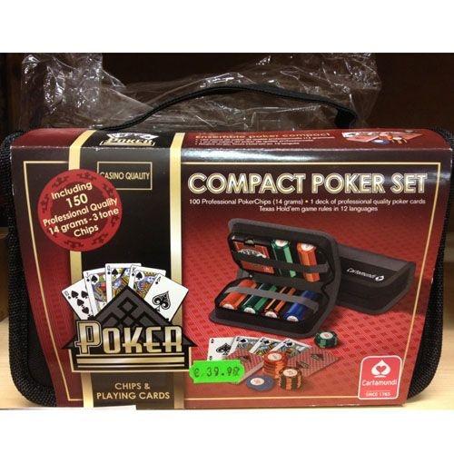 Pokerset im Reise-Etui
