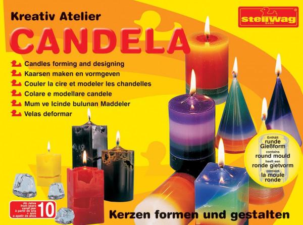 Kerzengießformen, 4er-Set