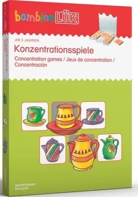 bambino LÜK-Set - Konzentrationsspiele