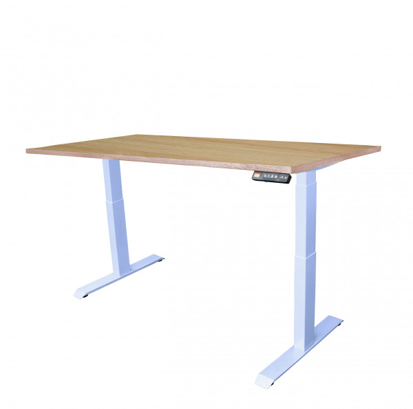 Schreibtisch - höhenverstellbar, 160 x 80 cm