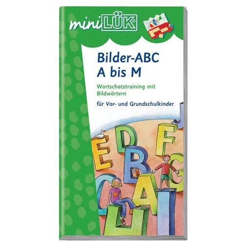 mini LÜK Bilder-ABC von A bis M
