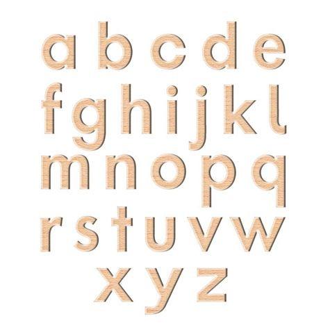 Magnetische Kleinbuchstaben