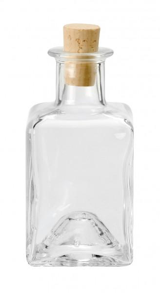Glasflasche mit Korken