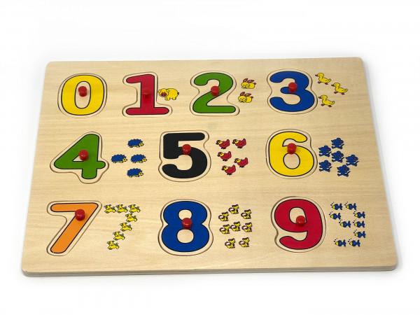 Lernenpuzzle Zahlen & Mengen