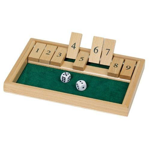 """""""Shut the Box"""" Spiel"""