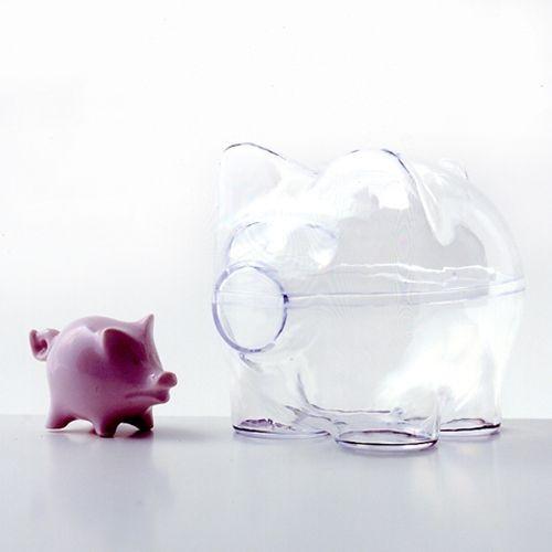 Sparschwein aus Acrylglas