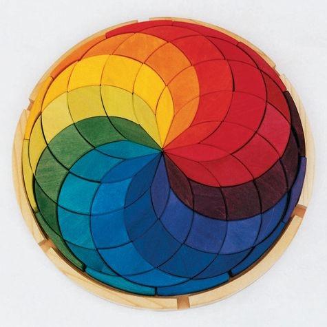 Kreis Farbspirale