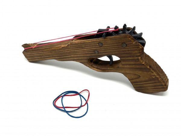 Pistole für Gummiband