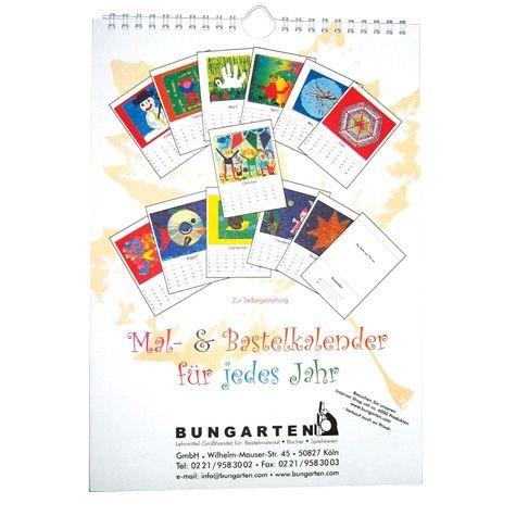 Mal- & Bastelkalender