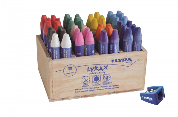 Lyra Lyrax Wachsriesen Set 48-tlg.