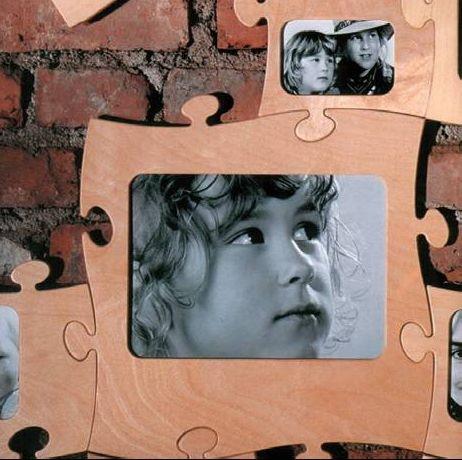 Bilderrahmen-Puzzle groß
