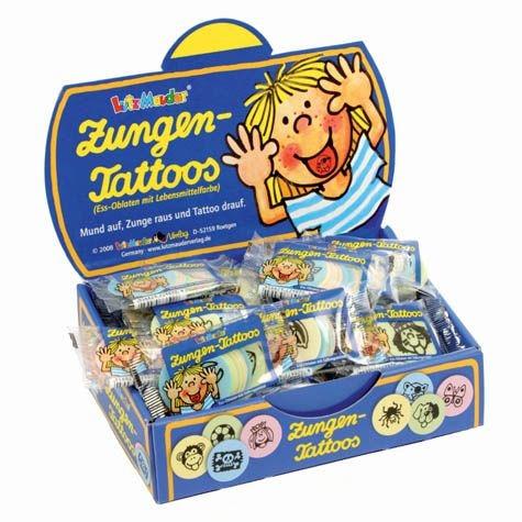 Zungen-Tattoo Set
