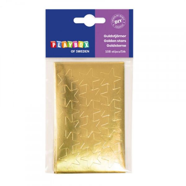 Goldsterne 108 Stück