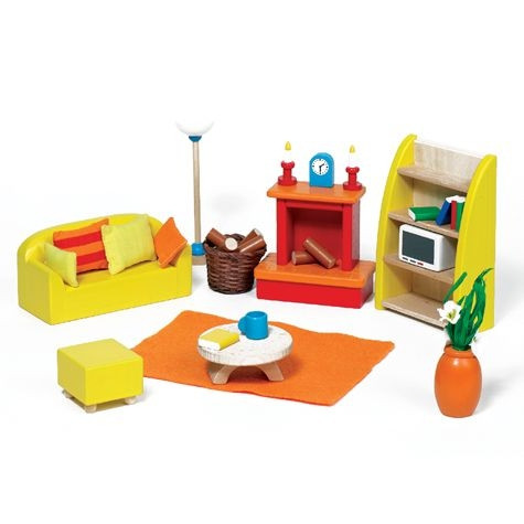 Wohnzimmer Junges Wohnen | Puppenhaus | Spielzeug | Spielen und ...
