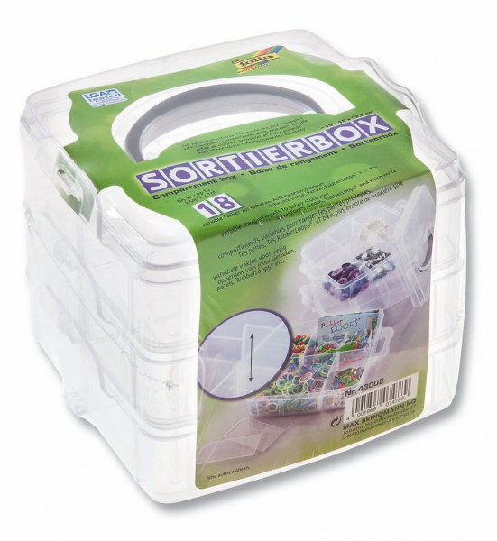 Sortierbox transparent