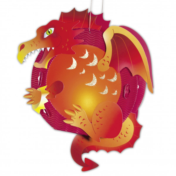 Laternen-Bastelset Drachen