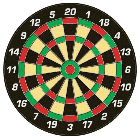 "Magnet-Dartboard-Set ""Family"""