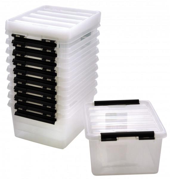 Aufbewahrungsbox mit Deckel, klein
