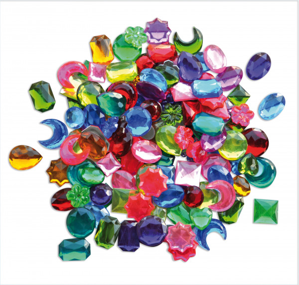 Kristallsteine Mix groß, 250 Stück