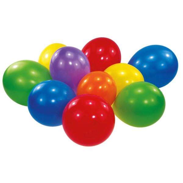 Luftballons, 75 cm, bunt, 100 St.