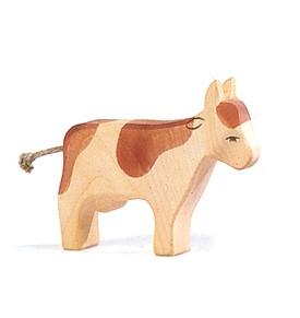 Ostheimer Kuh braun stehend
