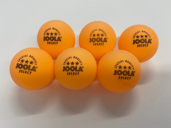 Tischtennisbälle 3 Sterne orange, 6 Stück