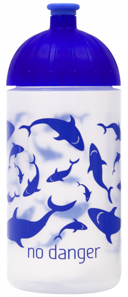 ISYbe®-Flasche Trinkflasche 0,5l, Haie