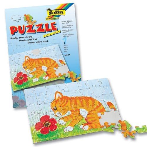 Blanko-Puzzle, unbedruckt