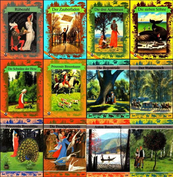 Die schönsten Märchen, 12 Hefte