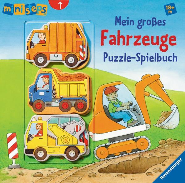 Mein großes Fahrzeug Puzzle-Spielbuch