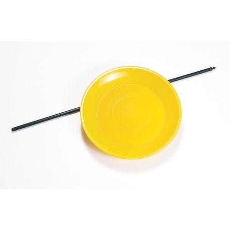 Jonglierteller gelb