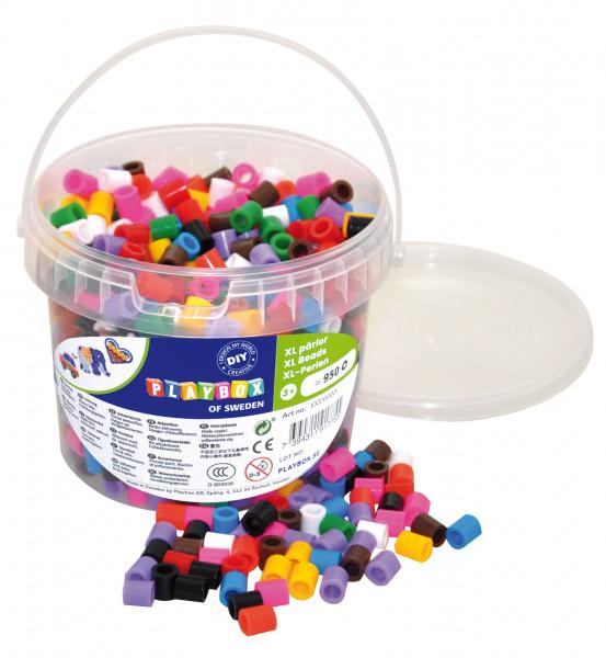 Bügelperlen Maxi XL 10-Farbenmix