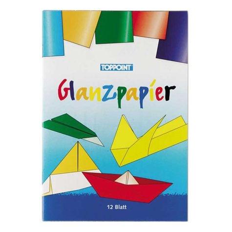 Glanzpapierheft, 12 Blatt