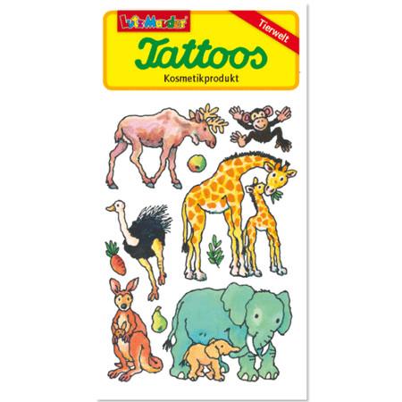 Tattoo Tiere 5,6 x 10,5cm Nasstattoos