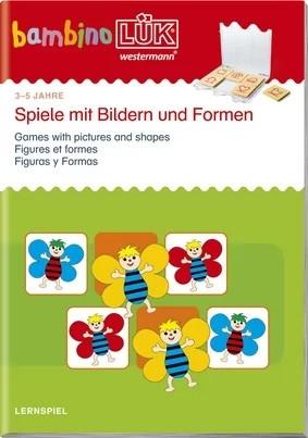 bambino LÜK Spiele mit Bildern und Formen 1