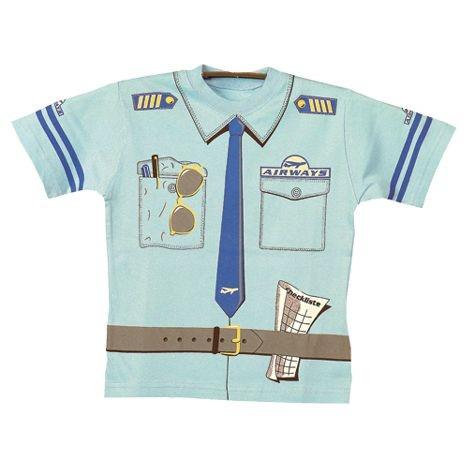 Kostüm Piloten-Shirt