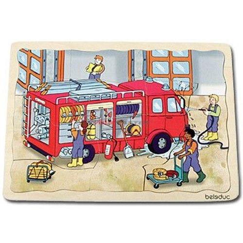 Lagen-Puzzle Feuerwehr
