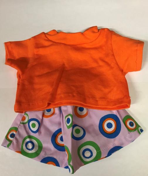 T-Shirt Orange mit Hose